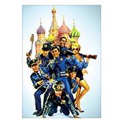 Портретный постер Police Academy